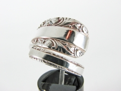 Rose Bower spoon ring