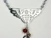 Winged Trilobite necklace