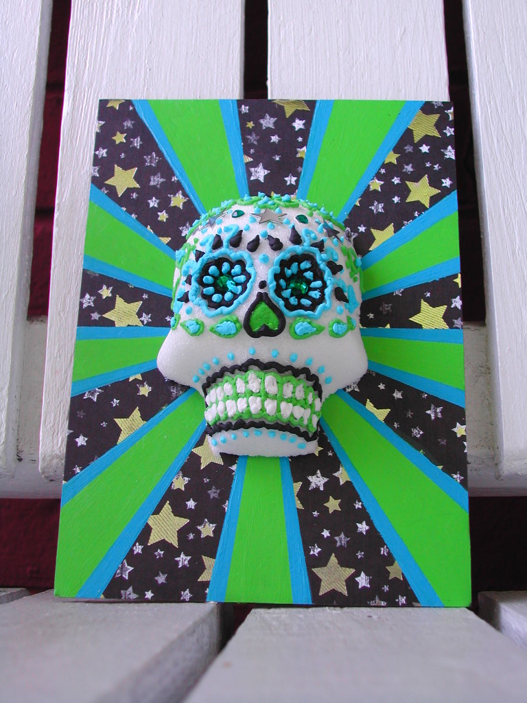 Sugar Skull Shadowbox
