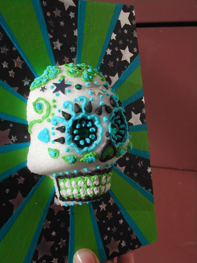 Sugar Skull Shadowbox