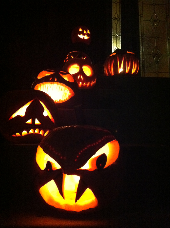 night-pumpkins
