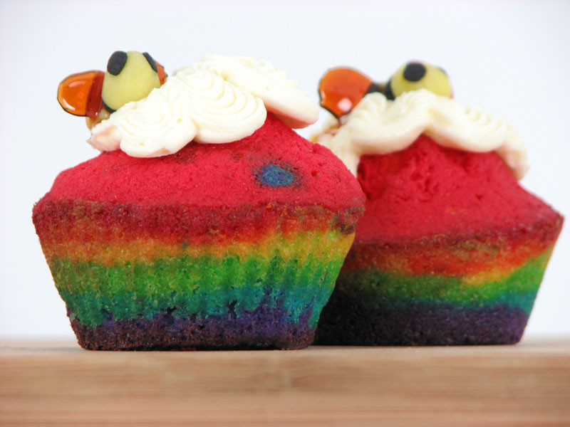 Rainbows and Bees 1