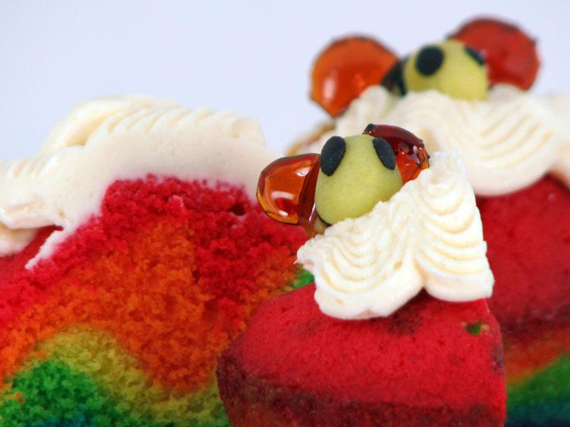 Rainbows and Bees - bee close up