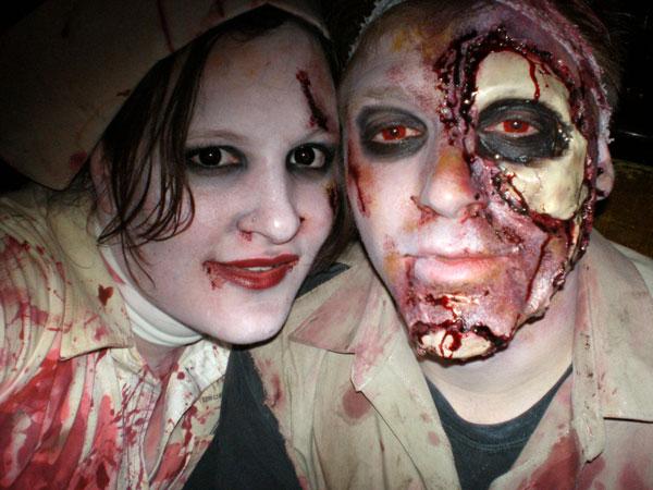 Nurse and Zombie